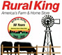 Rural King- America's Farm & Home Store Logo